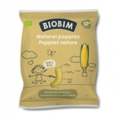 Biobim Poppies Naturel Biologische Maisflips +12 mnd