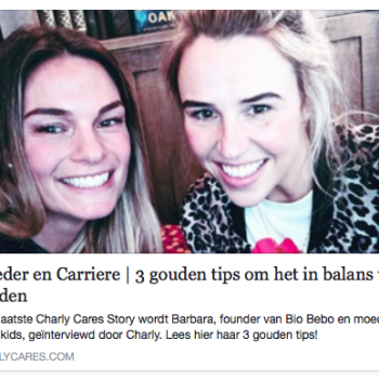 Bio Bebo met Charly Cares